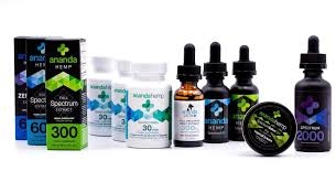 ANANDA HEMP CBD Oil products