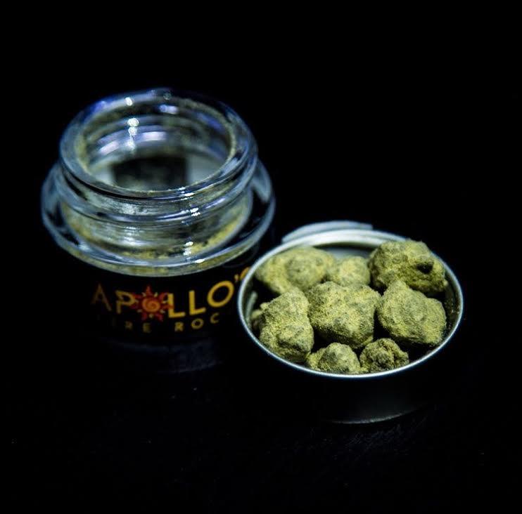 Apollo's Fire Rocks