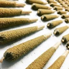 Fire Stick Pre-Roll Blended with Concentrate (Hash, Oil , Kief and Blue Dream Flower) 1.2 gram
