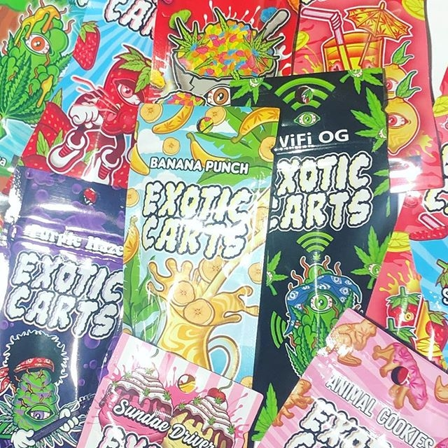 Exotic Carts 1 Gram Cartridges