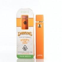 Dabwoods (Hybid) Flavor Train Wreck THC/A 1GRAM Disposable Vape Pen