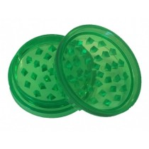 Plastic Herb Grinder Green