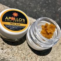 Apollo's Trim Run Crumble (Sativa) 1 Gram THC 70%