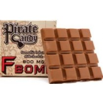 Pirate Candy 800 mg F Bomb Milk Chocolate Bar